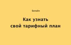 Как узнать тариф на Билайн в Казахстане